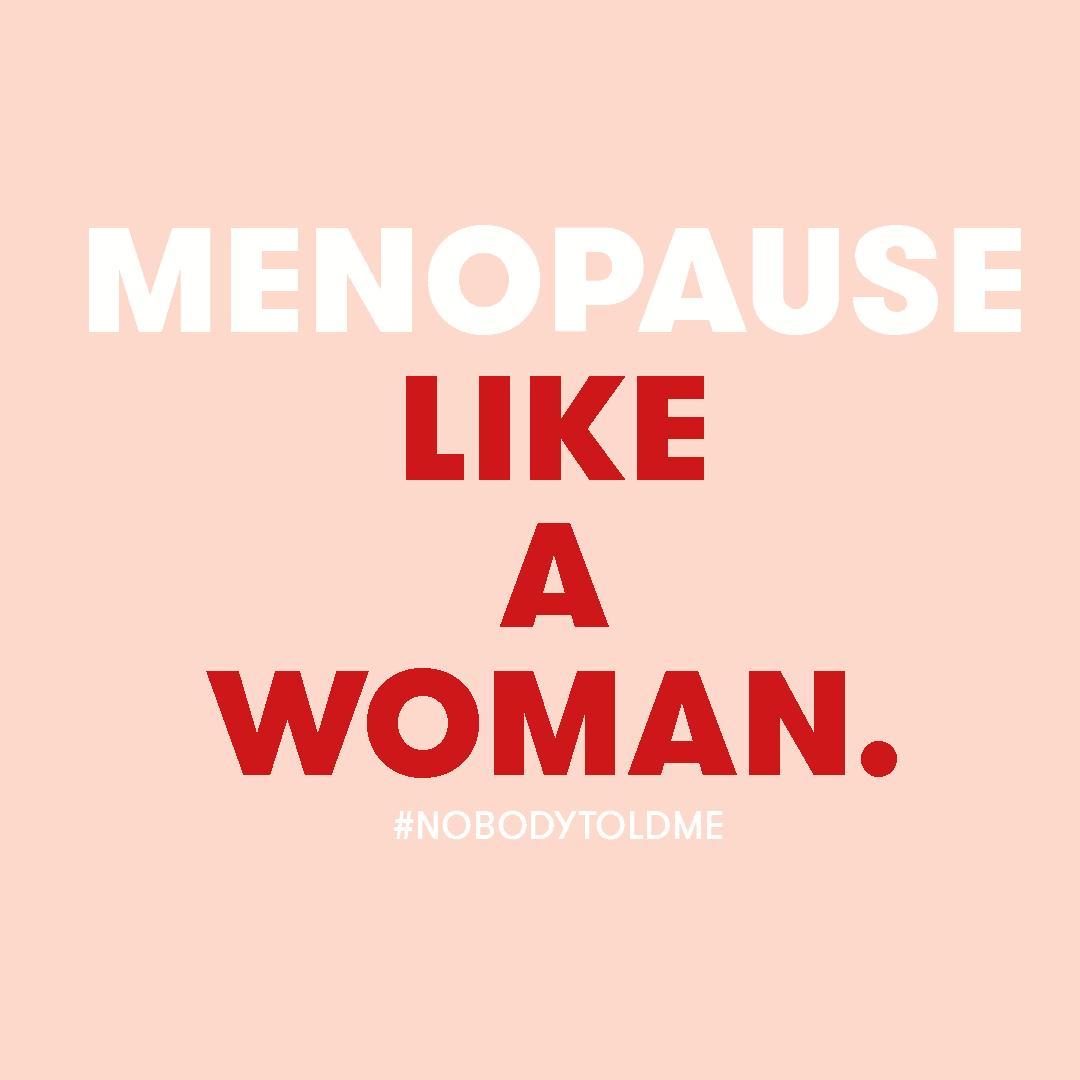 menopause like a woman